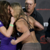 Miesha Tate Says The Real Ronda Rousey Comes Out When Cameras Aren't Around, Claims She Cussed Out Paige VanZant! (VIDEO)