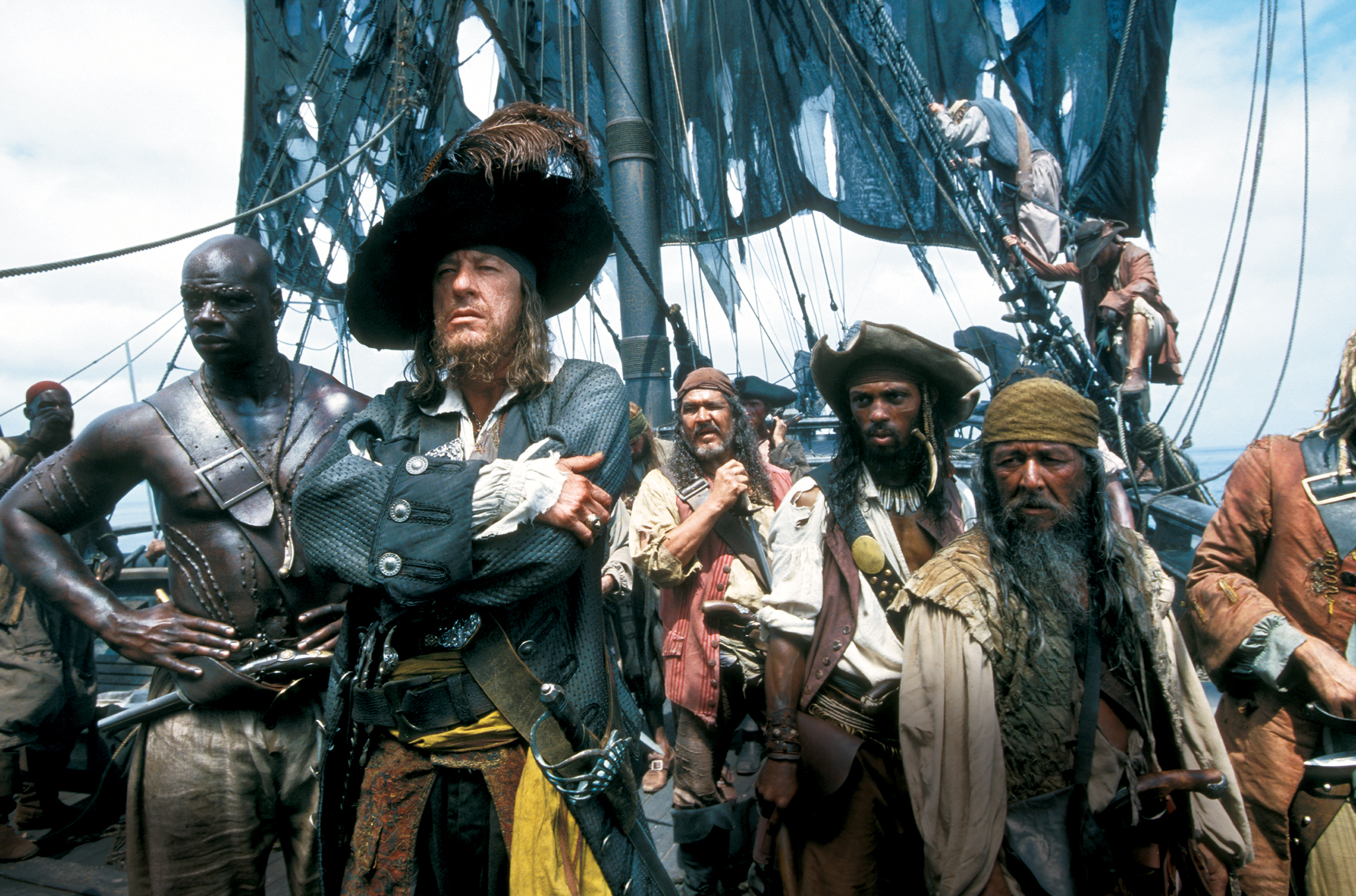 Pirates Of The Caribbean-The Curse Of The Black Pearl [2003] – Trailer Stills & Info